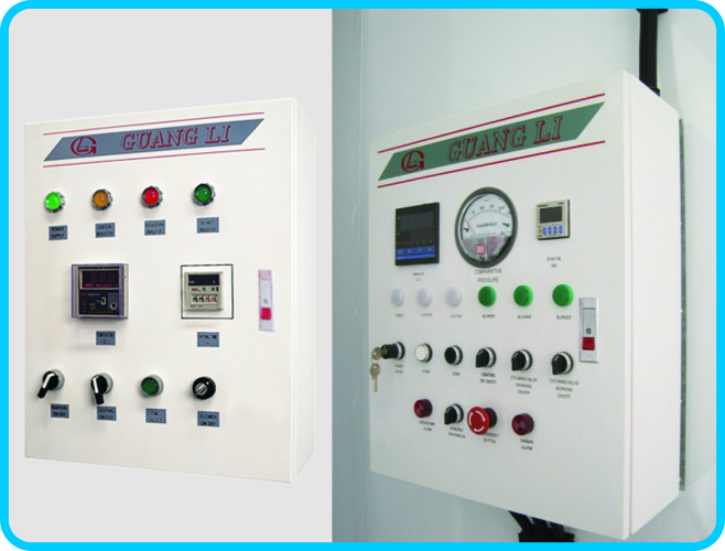 Spray booth Control Box