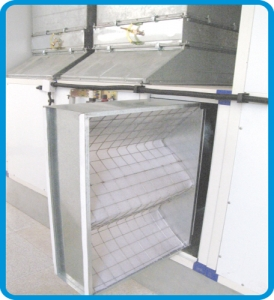Spray Booth Hot Filter