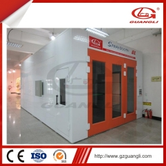 car spray booth oven