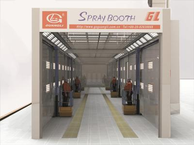 Customized Large Truck Booth