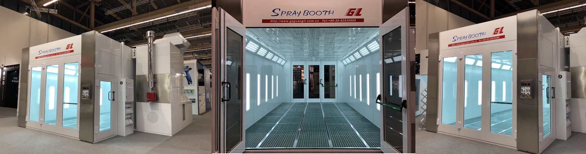 Truck Spray Booths Manufacture